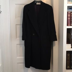 Jones New York Petite - Navy Coat - Size 10